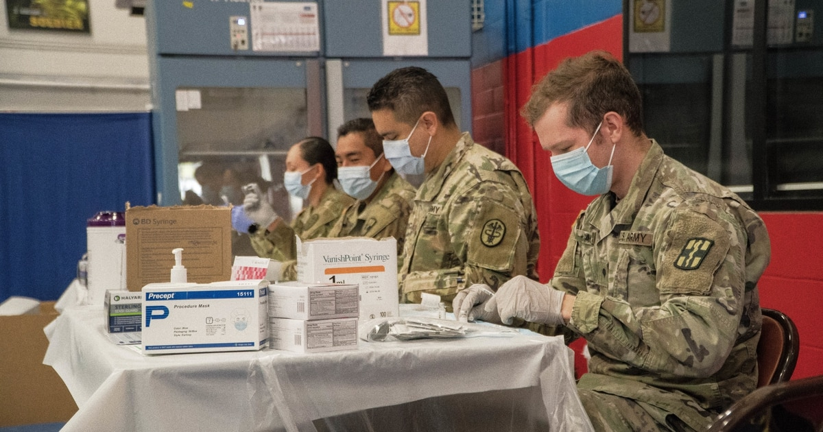 Prepare for mandatory COVID vaccines in September, Army tells commands
