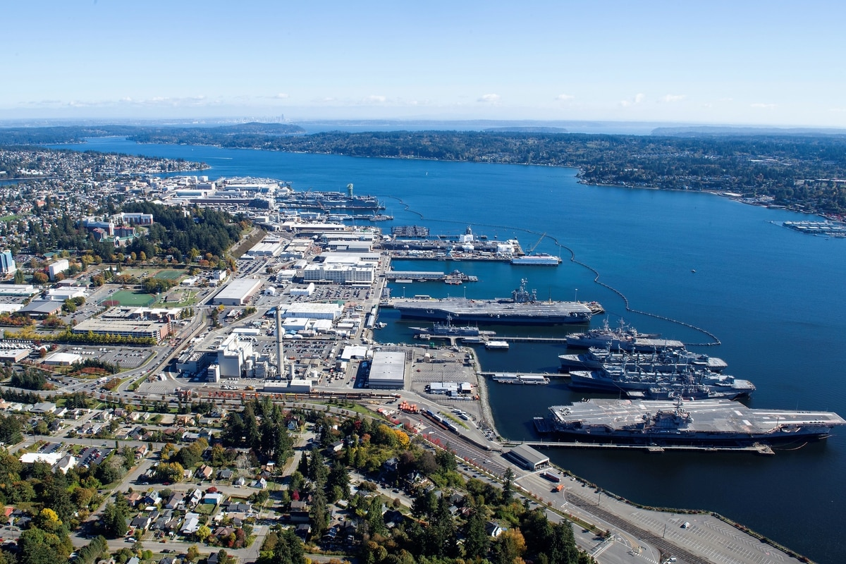 Navy dumps hazardous material into Puget Sound, says