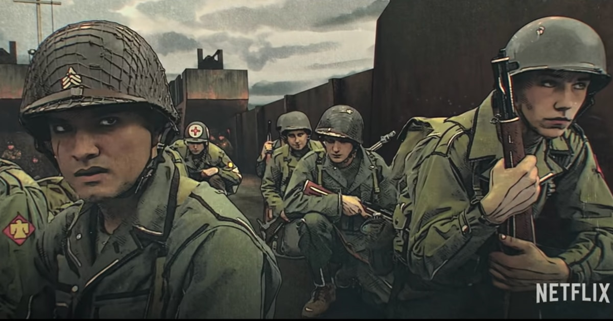 Watch the teaser trailer to Netflix's upcoming animated WWII series 'The Liberator'