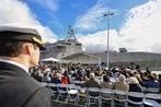 Navy welcomes newest warship