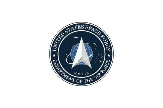 President Trump unveiled the Space Force logo via Twitter on Friday. (Space Force)