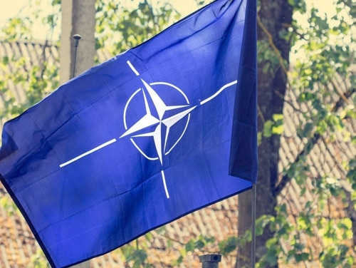NATO flag (Getty Images)