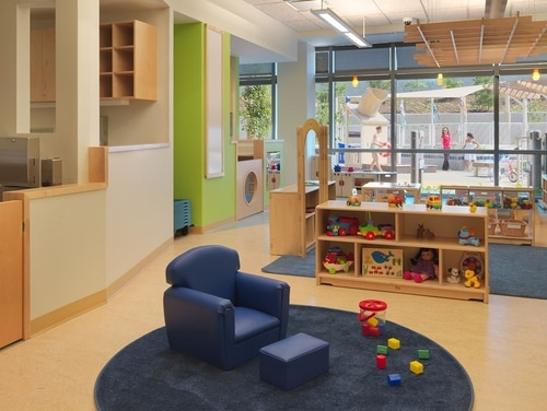 Several buildings managed the General Services Administration failed to meet minimum security standards for facilities with child care services. (General Services Administration)