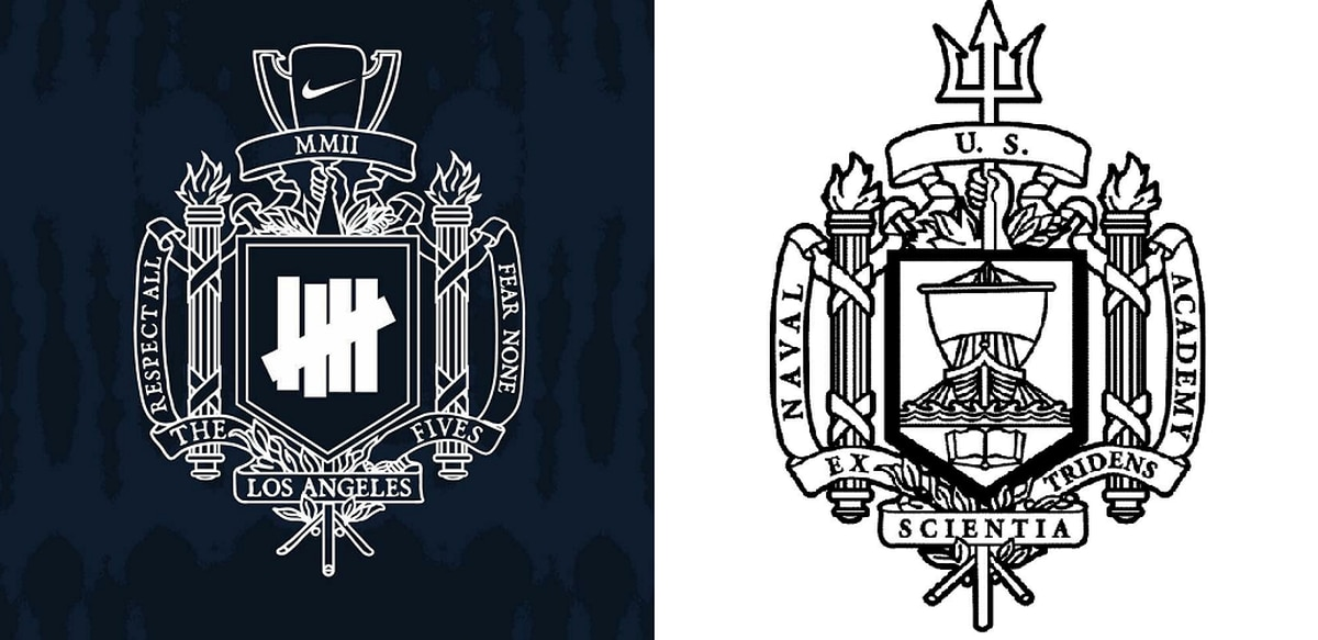 Did Nike Just Rip Off The Naval Academys Coat Of Arms