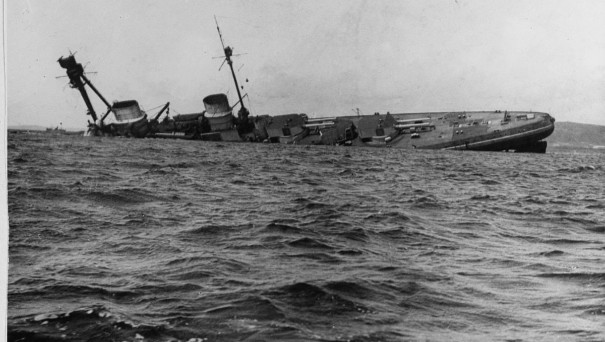 Dead by their own hands: Why the Germans scuttled a fleet