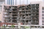 Oklahoma City bombing: Barriers to government hardened