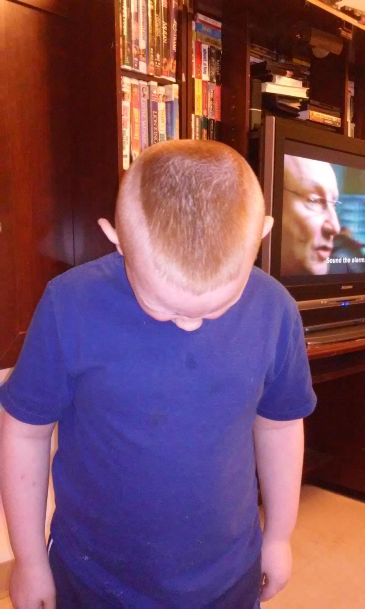 Suspension Threat Outcry Over Boys Military Haircut