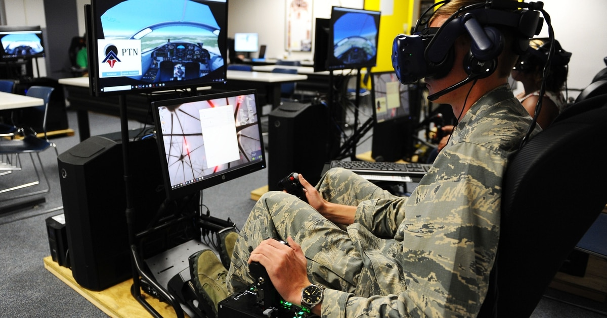Academy brings VR pilot training to cadets