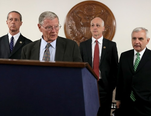The COVID-19 pandemic has reopened conversations about whether lawmakers always need to be physically present in the Capitol to vote. (Chip Somodevilla/Getty Images)