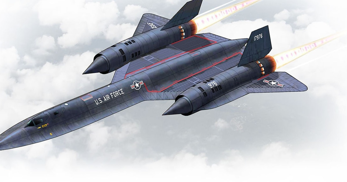 Image result for Supersonic military aviation is represented by the Lockheed SR-71A Blackbird.