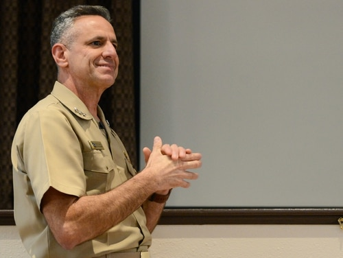 Chief of Naval Personnel Vice Adm. Robert Burke has announced important changes to the way officers will be evaluated before retirement. (Chief Mass Communication Specialist Dustin Kelling/Navy)