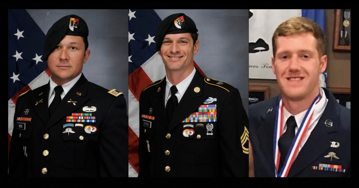 dc01fd43 Pentagon identifies three special operations troops killed by IED in  Afghanistan