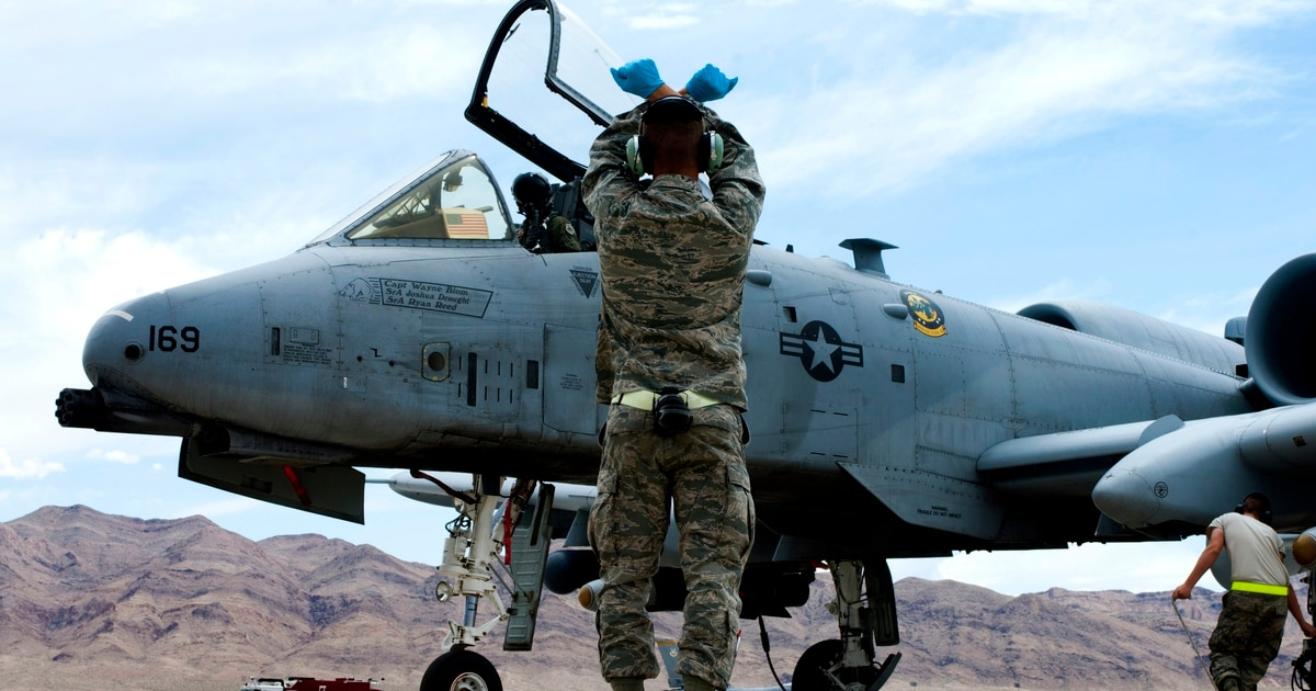 Senate policy bill rejects Air Force request to send some A-10s in the boneyard