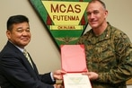 Commander of Futenma air station sacked