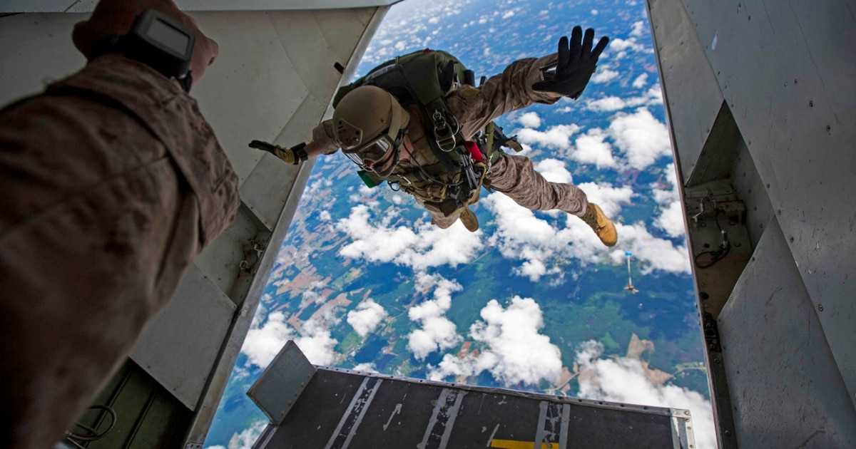 The Corps moving forward with a new parachute. This is why.