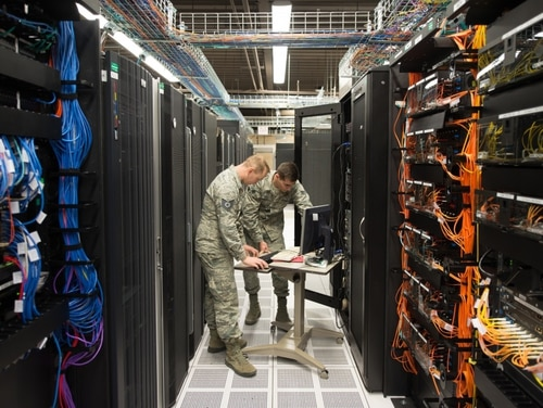DoD officials provided greater granularity regarding FY20 cyber budget monies. (Paul Shirk/Air Force)