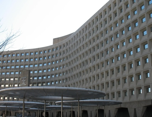 The Department of Housing and Urban Development (shown here) is soliciting IT modernization solutions through the Centers of Excellence program.