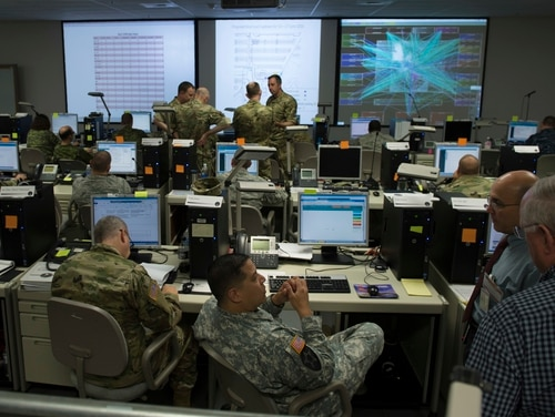 Army budget documents provide insight into how it will procure Cyber Command's premier cyber training platform. (DoD Photo by Navy Petty Officer 2nd Class Jesse A. Hyatt)