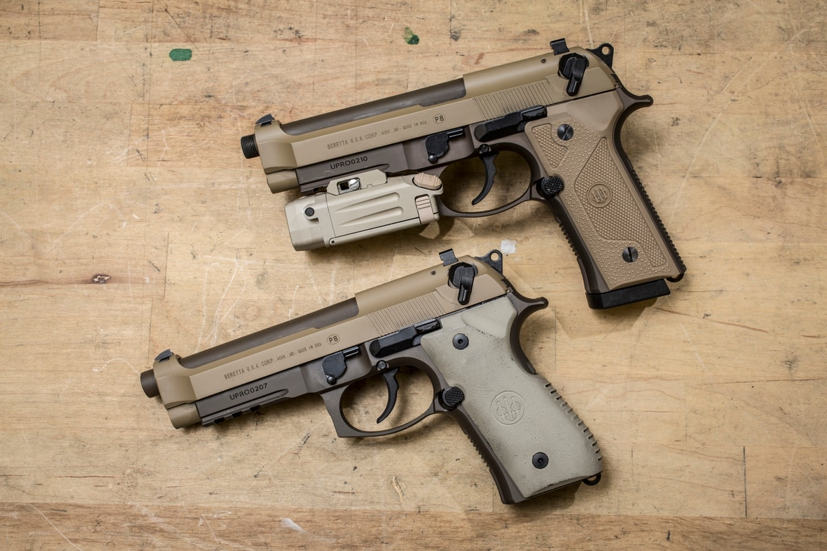 Beretta: Army never communicated M9's perceived flaws