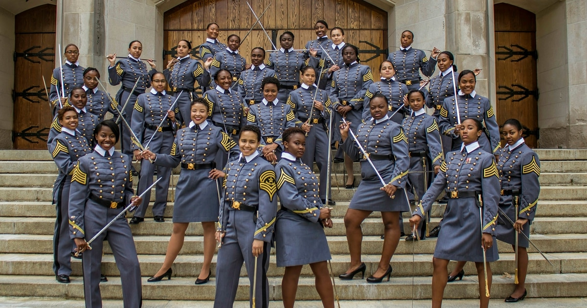 0e4cdf54dce West Point to graduate record number of black female cadets