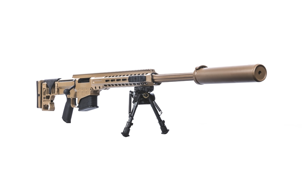 DoD just bought this formidable new sniper rifle in  300 PRC