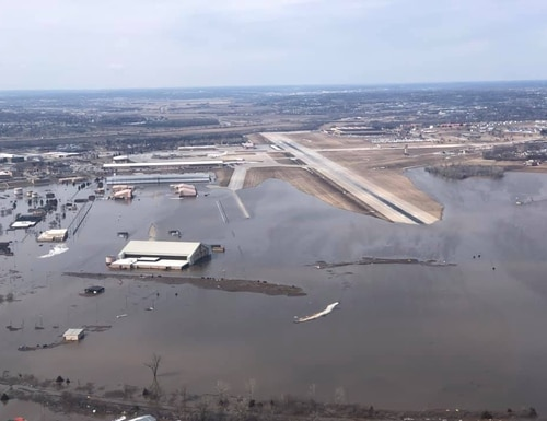 GDIT has been tasked with helping DHS with disaster communications. (Air Force)