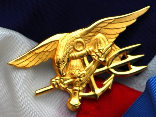 Lt. Jacob Portier's court-martial begins Jan. 22, 2019, in San Diego. Pictured: The Navy Special Warfare (SEAL) Trident. (Navy)