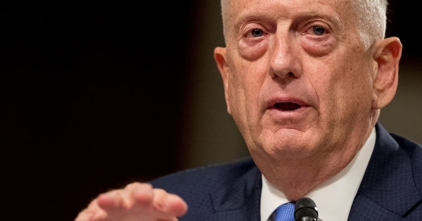 Defense Secretary Jim Mattis has directed Undersecretary of Defense for Intelligence Kari Bingen and the Pentagon's chief information officer to review security policies concerning cell phones and other personal electronic devices. (Andrew Harnik/AP)