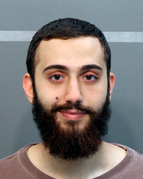 This April 2015 booking photo released by the Hamilton County Sheriffs Office shows a man identified as Mohammad Youssduf Adbulazeer after being detained for a driving offense. A U.S. official speaking on condition of anonymity identified the gunman in shootings at two Chattanooga military facilities asMuhammad Youssef Abdulazeez, who sharesthe same age and address as the man in the photo. (Hamilton County Sheriffs Office via AP)