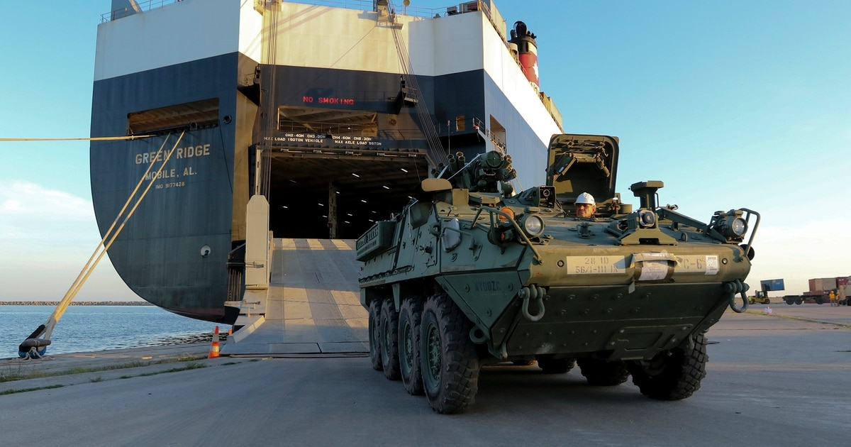 Stryker deployment to Black Sea will bolster NATO's eastern flank
