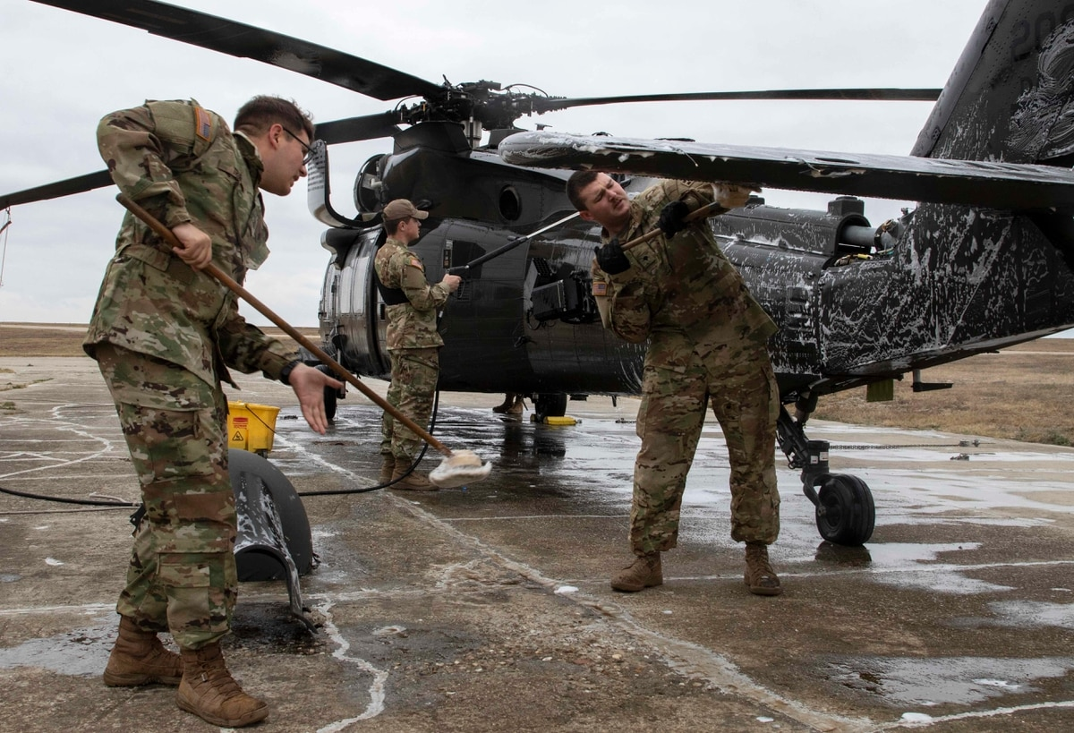 Soldiers from the 4th Combat Aviation Brigade, deployed since the spring to  Eastern Europe, have had to cancel holiday leave plans.