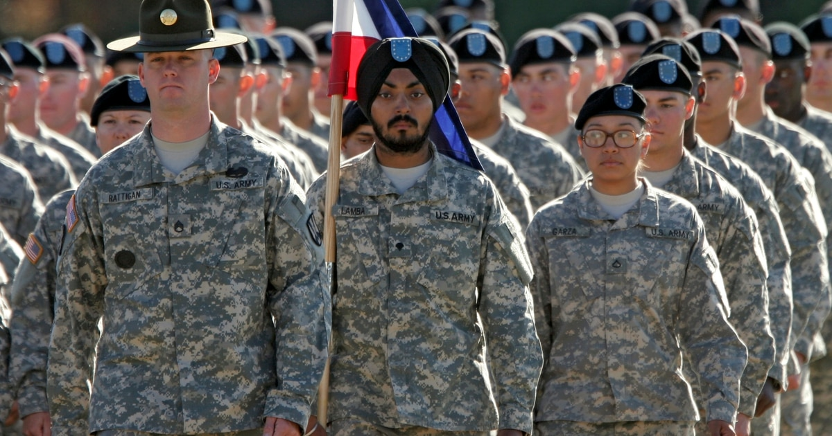 New Army Policy Oks Soldiers To Wear Hijabs Turbans And Religious