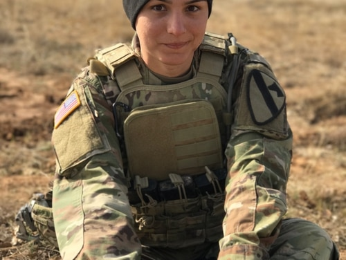 Spc. Alex Ketchum, an infantryman with 1st Cavalry Division at Fort Hood, Texas, officially changed her gender marker in April, following a year and a half of hormone therapy and less than a year after the Defense Department lifted its ban on service for transgender troops. (Photo courtesy Spc. Alex Ketchum)