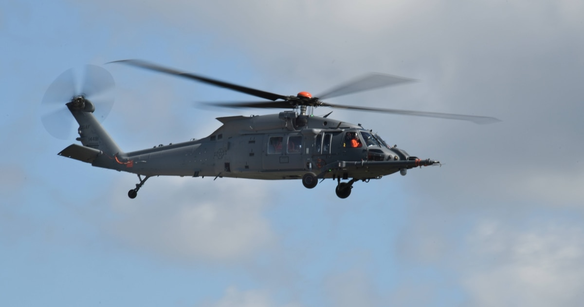 Ho, ho, ho! Here's the name of the Air Force's combat rescue helicopter