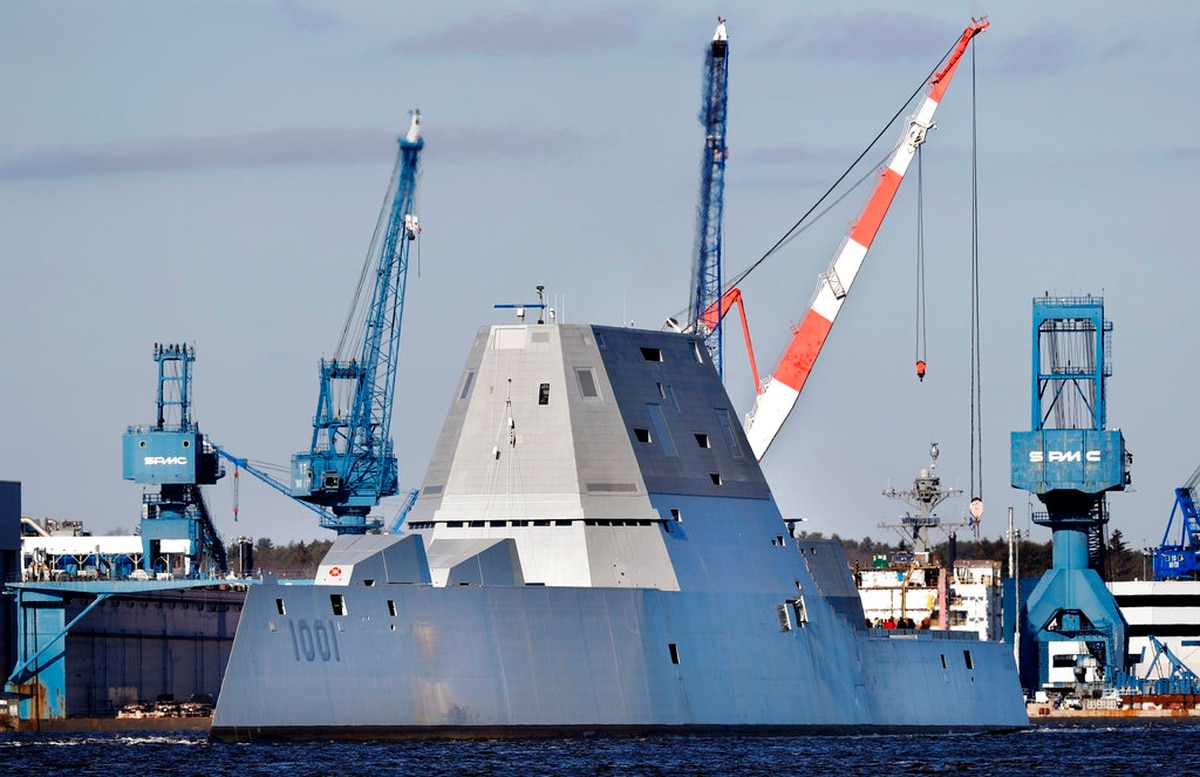 The Navy S Next Stealthy Destroyer Slated To Leave For San