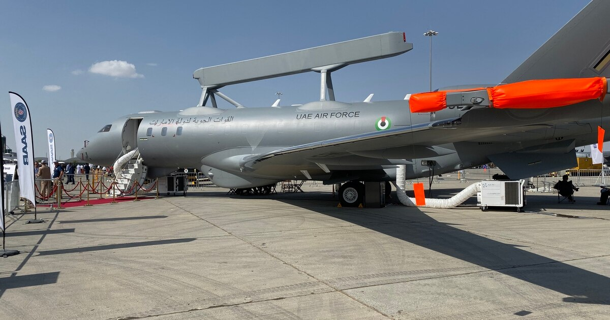 UAE announces informal agreement for two more Saab GlobalEye planes