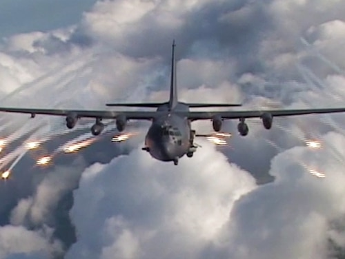 Adversaries in Syria are jamming communications and even disrupting AC-130 aircraft.