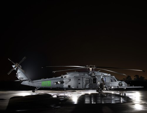 Air Force Secretary Barbara Barrett on Feb. 27 announced that the service's new combat rescue helicopter would be known as the HH-60W Jolly Green II. (Lockheed Martin Sikorsky)