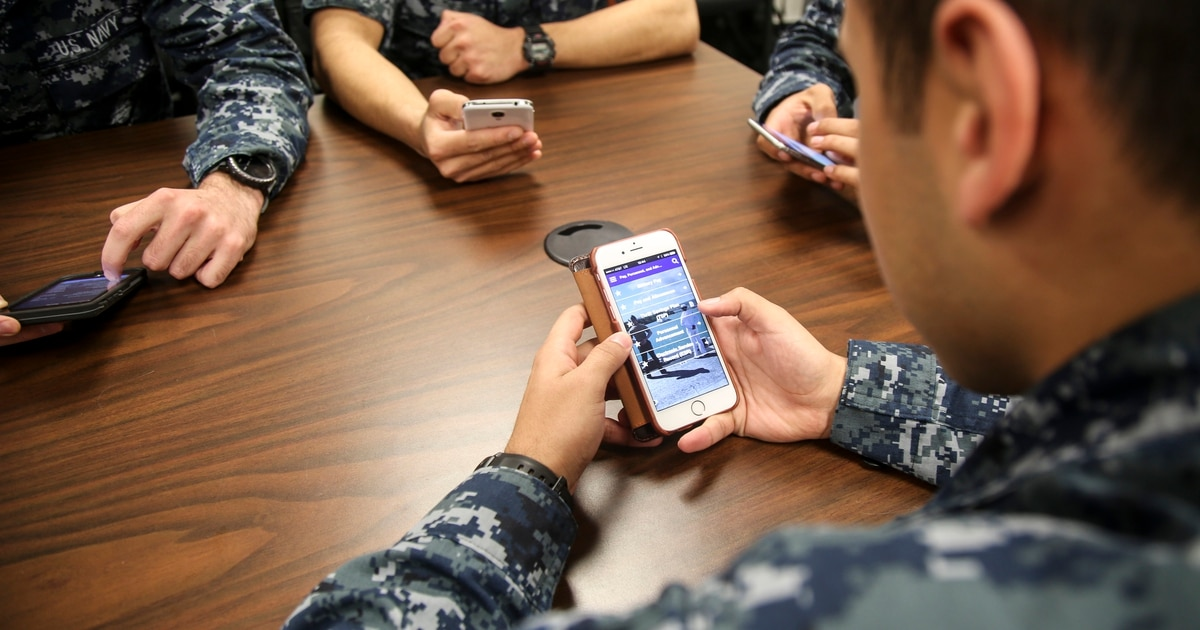 Pick your next duty assignment with a swipe on your phone
