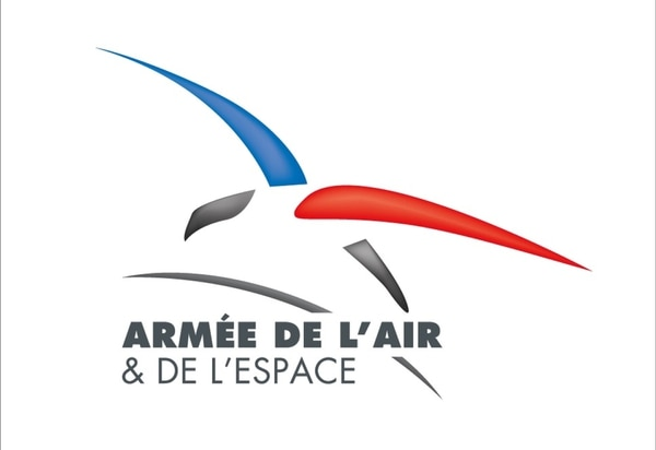 The new logo for the French Air and Space Force.
