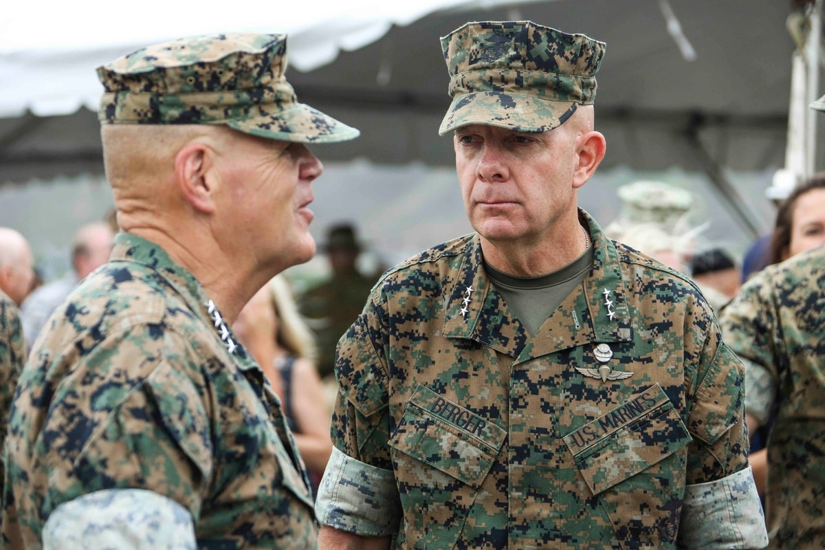 Former recon Marine Lt. Gen. David H. Berger nominated to be next Marine Corps commandant