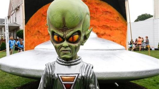The Pentagon has established an Unidentified Aerial Phenomena Task Force. (Keith Srakocic/AP)