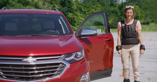 Former Army Capt. Maureen Short draws on her military experiences in her role as an engineer for Chevrolet. (Chevrolet)