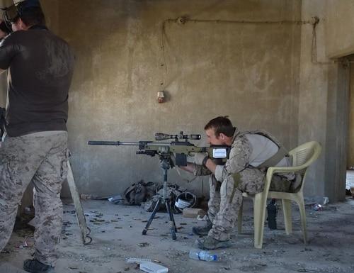 "Special Warfare Operator Chief Edward ""Eddie"" Gallagher in Iraq. (Photo provided)"
