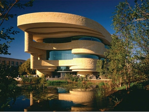 The Smithsonian National Museum of the American Indian in Washington, D.C. (Courtesy of Damyanti Radheshwar)