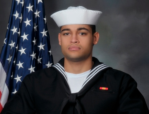 Pearl Harbor shooter Machinist's Mate Auxiliary Fireman Gabriel Antonio Romero, 22, shot and killed two people, and wounded Roger Nakamine with his service weapon before taking his own life. (Navy)