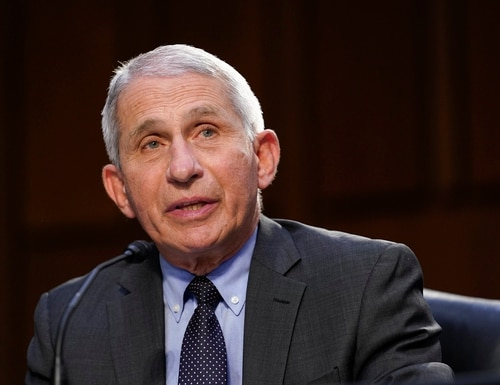 Dr. Anthony Fauci, director of The National Institute of Allergy and Infectious Diseases, has a position and pay level that is protected by federal employment law. (Susan Walsh, Pool/AP)