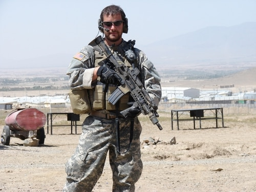 Former Staff Sgt. Ronald Shurer II on deployment to Afghanistan. He will receive the Medal of Honor on Oct. 1, 2018. (Photo courtesy Ronald Shurer)