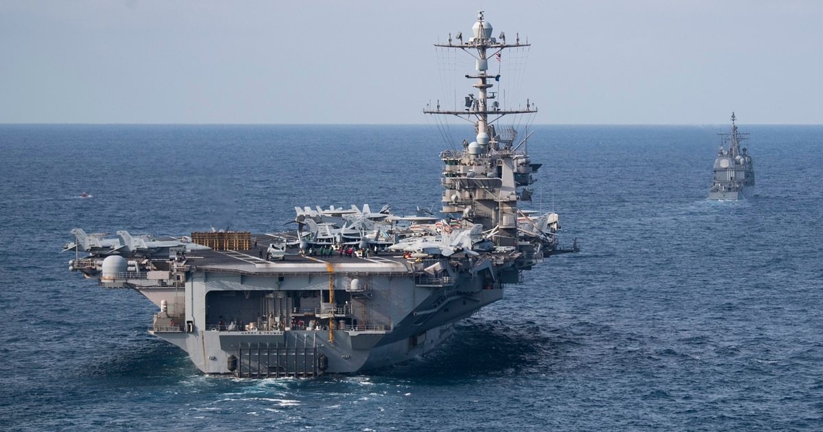 The Pentagon again tried to decommission the carrier Truman, cut an air wing, document shows