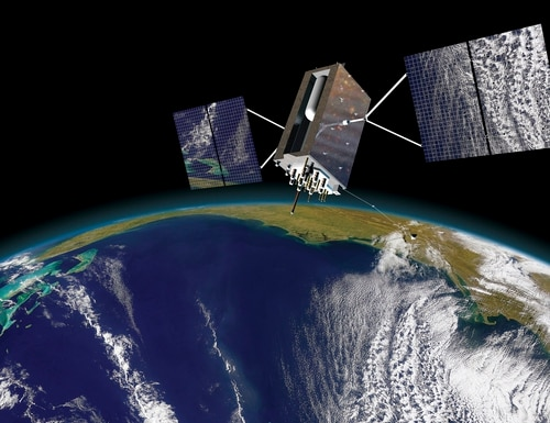 While the new anti-spoofing, anti-jamming, encrypted M-code signal has been available on many GPS satellites for years, the military has not had the corresponding ground and user equipment to access and leverage it. (Lockheed Martin)